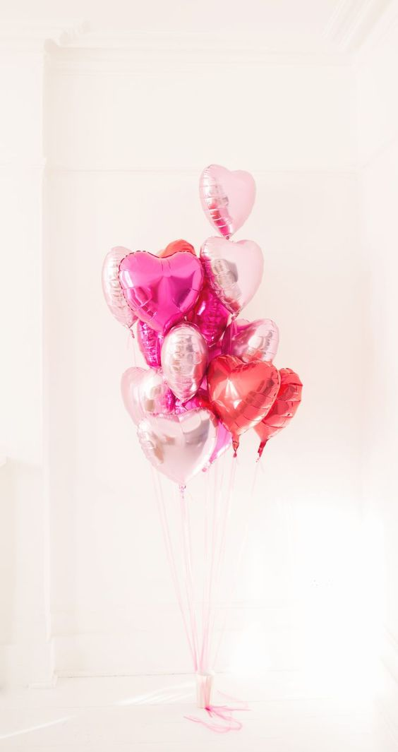 heart baloons by Julia&You for welcome post