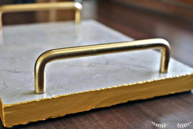 diy-gold-rimmed-marble-tray-handle
