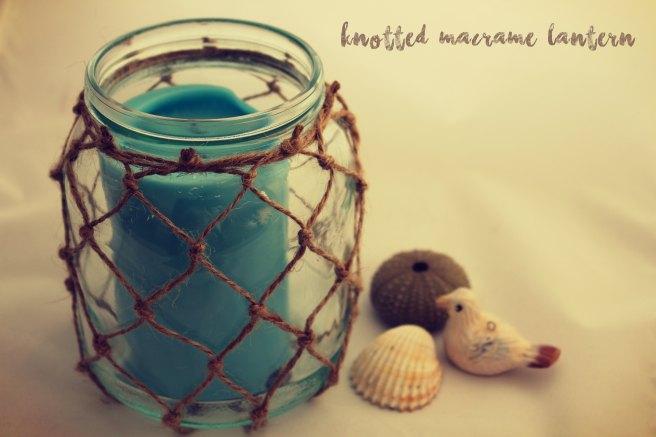 knotted macrame lantern title image