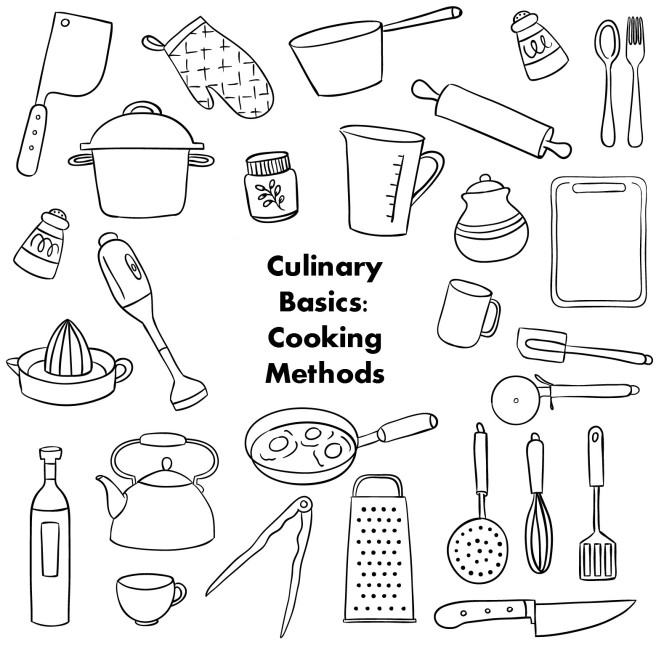 culinary basics: cooking methods title