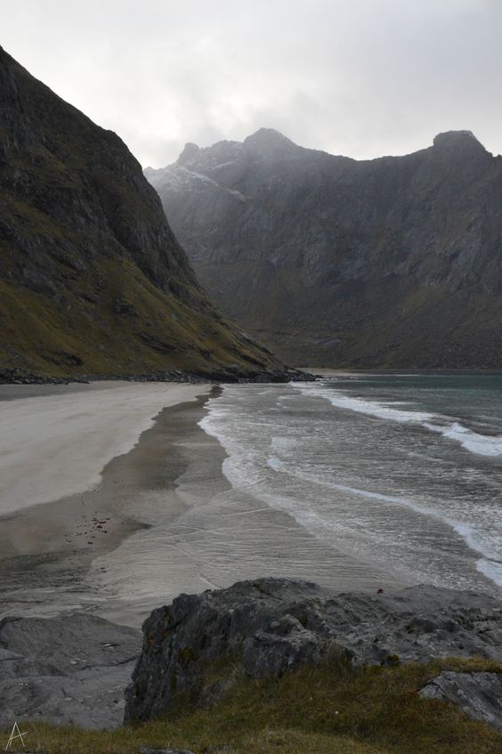 Nordvika beach, the Lofoten Islands