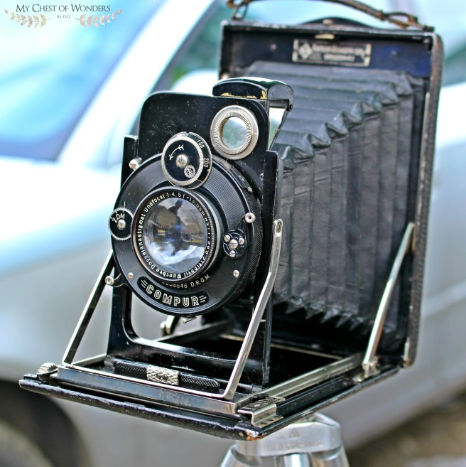compur old plate camera