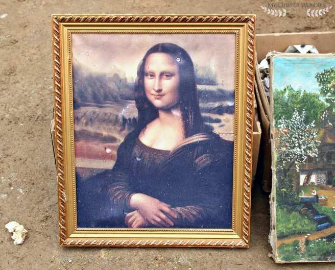 Mona Lisa reproduction