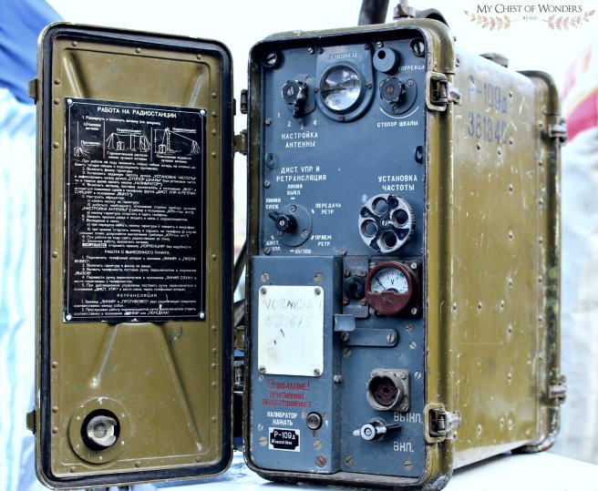 soviet manpack transceiver