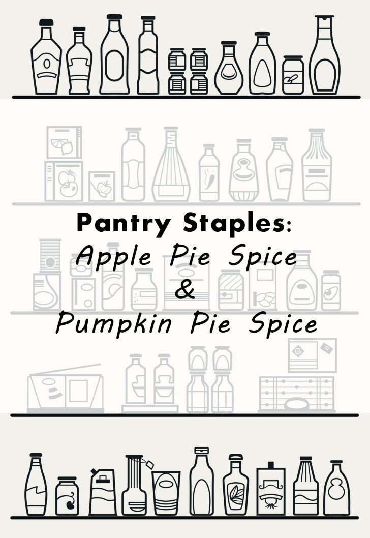 pantry staples apple and pumpkin pie spice cover