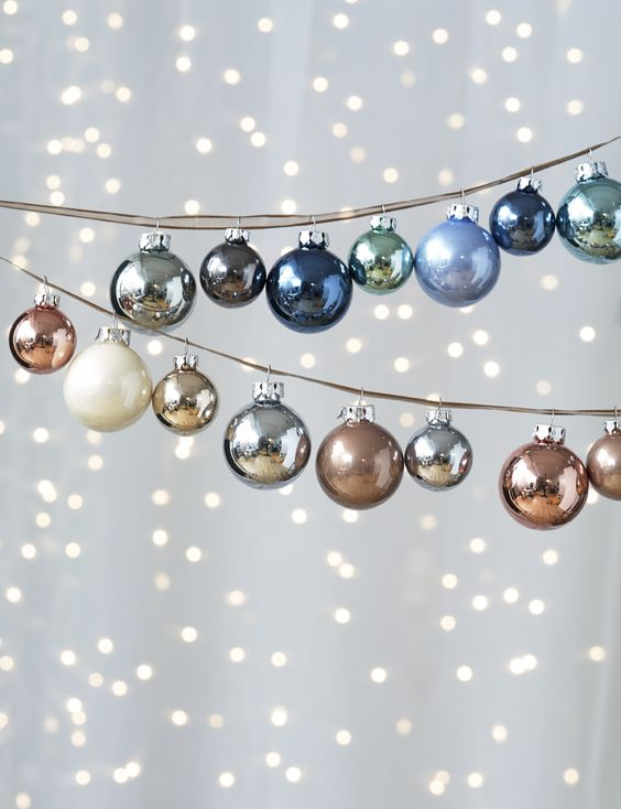 ornament garland