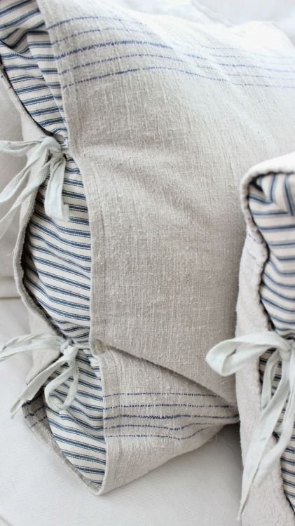 grain sack pillowcase