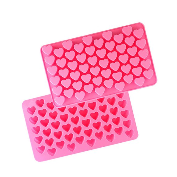 silicone heart mould