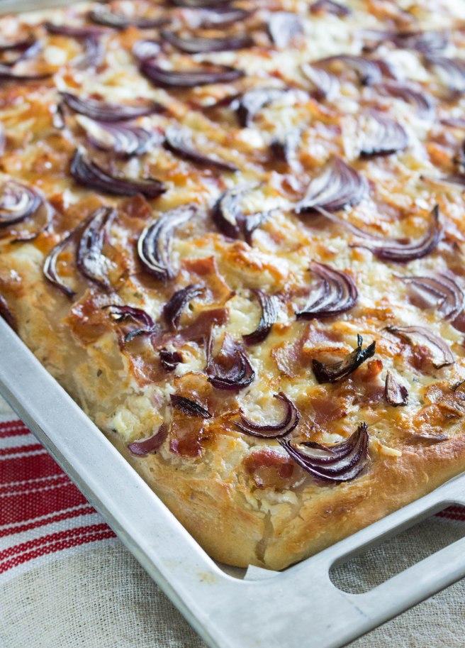 hungarian langallo flatbread