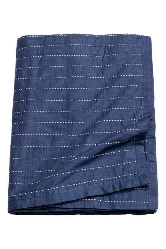 H&M stiched bedspread