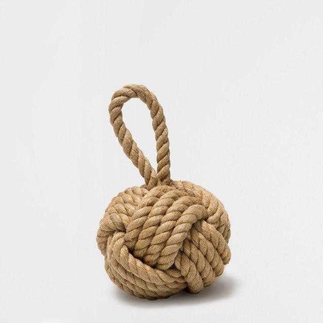 zara home rope door bumper