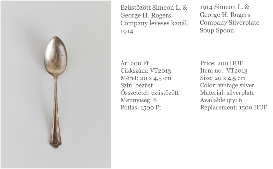 silverplate soup spoon