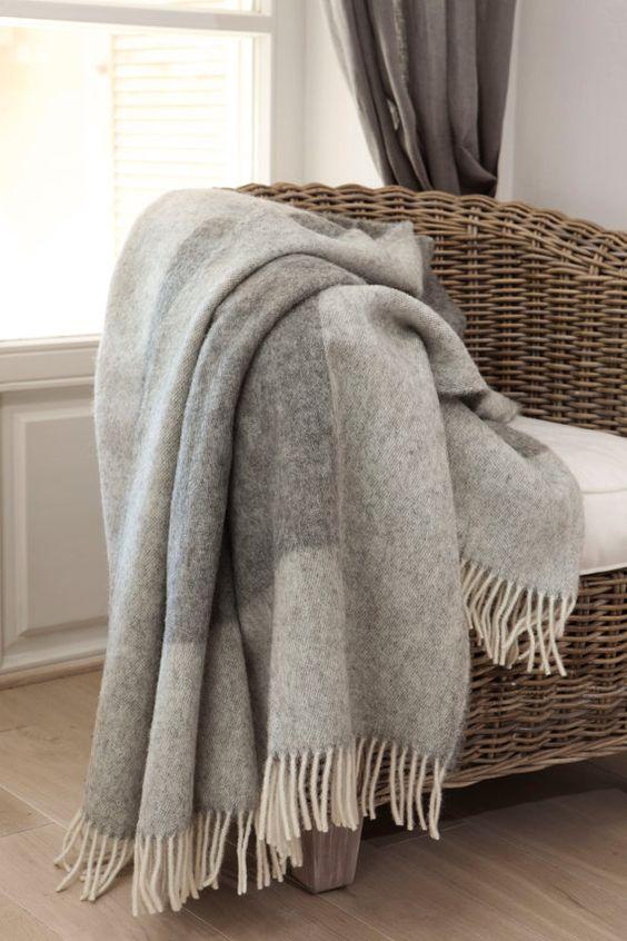 wool bedspread