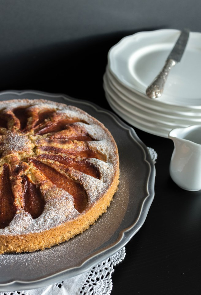 pear hazelnut coffee cake