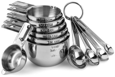 hudson measuring cup set